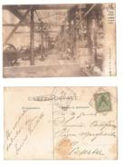 MASSA CARRARA - LAVORAZIONE DEI MARMI - SEGHERIA - EDIZ. VALENTI - 1905 - Massa