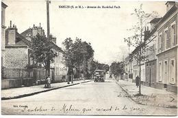 NANGIS - Avenue Du Maréchal Foch - Autobus - Nangis