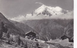 Switzerland Graechen Hannigalp Matterhorn Weisshorn Brunegghorn 1973 Real Photo - VS Valais