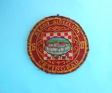2. BOJNA - CETINGRAD ...  Croatia Army Old Patch Croatie Armee Ecusson Kroatien Flicken Croazia Croacia - Patches