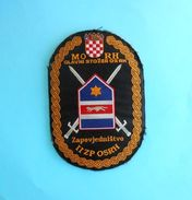 MORH - GL. STOZER - II ZP OSRH  ...  Croatia Army Old Patch Croatie Armee Ecusson Kroatien Flicken Croazia Croacia - Patches