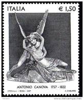 PIA - ITALIA - 2007 : 250° Della Nascita Di Antonio Canova - (SAS  2996) - 6. 1946-.. República