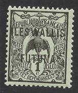 Wallis And Futuna, 1 C. 1920, Sc # 1, MH - Unused Stamps