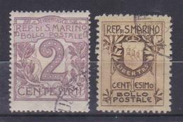 SAN MARINO 1903-1907 - Oblitérés