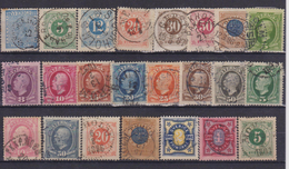 SWEDEN 1872-1892 - Suède