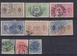 SWEDEN 1874-1912 - Oblitérés