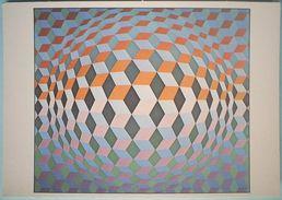 C.Postale : PEINTURE - VASARELY Victor - Cheyt-G (Ed. Atlas, 1987) - Paintings