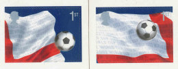 GRANDE-BRETAGNE - 2002 - 2 TP  Autoadhésif  YT 2339/2340  - SG N°2293/2294 - NEUF  LUXE ** MNH - World Cup Football - Unused Stamps