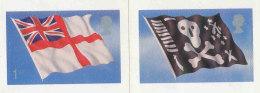 GRANDE-BRETAGNE - 2001 - 2 TP  Autoadhésif  YT 2289/2290  - SG N°2208/2209 - NEUF  LUXE ** MNH - Drapeaux Et Pavillons - 1952-.... (Elisabeth II.)