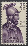 SPAIN       SCOTT NO. 1271      MINT HINGED      YEAR  1964 - 1931-Hoy: 2ª República - ... Juan Carlos I