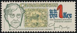 "Czechoslovakia / Stamps (1978) 2355: Day Of Czechoslovak Postage Stamps; Alphonse Mucha (1860-1939) Stamps ""Hradcany"" - Czechoslovakia"