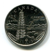 2005 Canada Alberta Commemorative 25c Coin - Canada