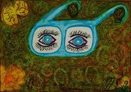 Eyes Watching You - Oils