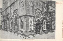 FIRENZE - FLORENCE - ITALIE - Chiesa D'Orsanmichele - ENCH1612 - - Firenze (Florence)