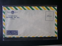 SOUTH CRUISE (CRUZEIRO DO SUL)  AIR SERVICES (BRAZIL), OFFICIAL ENVELOPE OF THE COMPANY - Playing Cards