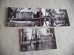 3 Cartes KASTELLO DE GRESILLON ....A BAUGE.. - France