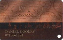 Grand Casino Mille Lacs & Hinckley MN - Slot Card - Casino Cards