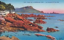 83-----Route De La CORNICHE D'OR---le Dramont Et L'ile D'or---voir 2 Scans - Boulouris