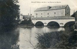 41 - Cellettes - Le Moulin Et Le Pont - Autres Communes