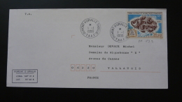 Lettre Cover TAAF PA 139 Iles De L'Est Poste Aérienne TAAF 1996 - Franse Zuidelijke En Antarctische Gebieden (TAAF)