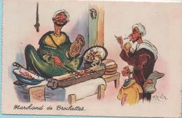 P. NERI - Marchand De Brochettes - - Illustrators & Photographers