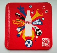 Coca-Cola From Romania - 2010 World Cup South Africa Football - Coasters