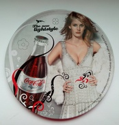Coca-Cola From Romania - Metallic - Unused - Coasters
