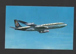 DF / TRANSPORTS / AVIATION / AVIONS / BOEING 707-320 AU COULEURS DE LA COMPAGNIE GRECQUE OLYMPIC AIRWAYS - 1946-....: Ere Moderne