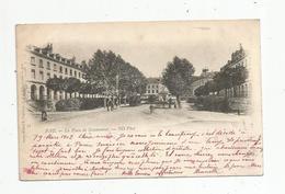Cp , 64 , PAU , La Place De GRAMMONT , Dos Simple , Voyagée 1902 - Pau