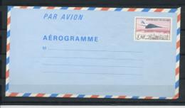 AÉROGRAMME CONCORDE (3,50) N° Yt 1012-AER** - Biglietto Postale