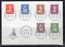 BIÉ FDC 1958 (z73) - Dienstpost