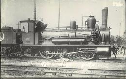 LOCOMOTIVE N°030-143 Chemins De Fer De L'état  (ancien Retirage Photo,format Carte Ancienne) - Trains