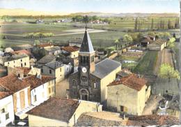 En Avion Au-dessus De Malissard (Drôme) - L'Eglise - Edition Lapie - CPSM Grand Format, Colorisée N° 2 Non Circulée - France