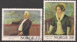 Norwegen  (1982)  Mi.Nr.  870 + 871  Gest. / Used  (8fc01) - Norwegen