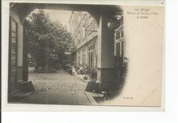 76-DIEPPE HOTEL DU SOLEIL D OR JARDIN TOUTE PETITE PLIURE COIN HAUT GAUCHE - Dieppe