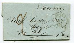 TARN De MAZAMET Cachet T14 Sur LAC Du 06/08/1847 - 1801-1848: Precursori XIX