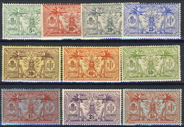 Nouvelles Hebrides 1911-12 Serie 27-37 MVLH Cat. € 85 - Used Stamps