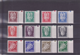 AOF Service Du N° 1 Au 12 Timbres Neufs ** - Unused Stamps