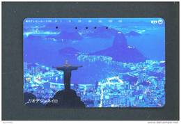JAPAN  -  Magnetic Phonecard/Rio De Janeiro - Japan