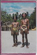 OCEANIE .- CLOURFUL PAPUA .- WIDOWERS (Mekeo) Veufs - Papoea-Nieuw-Guinea