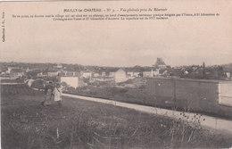 Carte Postale Ancienne De L'Yonne - Mailly Le Château  - Vue Générale Prise Du Réservoir - Autres Communes