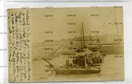 Northern Ireland County Down Donaghadee  Salvage Barge Perhaps For Deep Sea Diver Heinke Seibe Gorman 1900s - Down