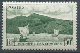 Comores   - Yvert N°  2 *   Cw 19918 - Unused Stamps
