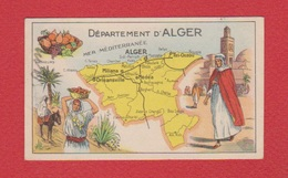 Pastilles Salmon  --  Alger - Trade Cards