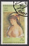 """Oman 1972  """" Blonde With Bare Breasts """" Quadro Dipinto Da E. Manet Nuovo Preobliterato Paintings - Impressionisme"""