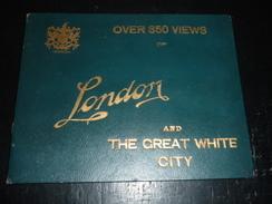 PLUS DE 350 VUES DE LONDRES - OVER 350 VIEWS OF LONDON AND THE GREAT WHITE CITY - Architecture