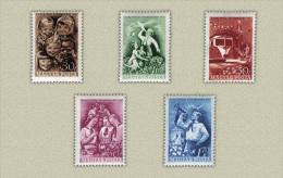 Hungary 1951. Childrens Nice Set MNH (**) Michel: 1165-1169 - Ungarn