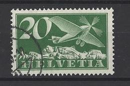 SUISSE. YT PA 4 Obl 1923-33 - Poste Aérienne