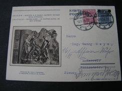 Polen Bildkarte 1934 - Ganzsachen
