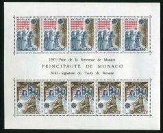 MONACO (  BLOC  ) : Y&T N°  22   BLOC  NEUF  SANS  TRACE  DE  CHARNIERE , A  VOIR  . - Blocs